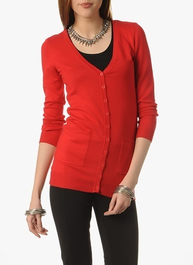 Vero Moda Vero Moda 10083878 GLORY Klasik Kalıp Renk Kazak Renkli